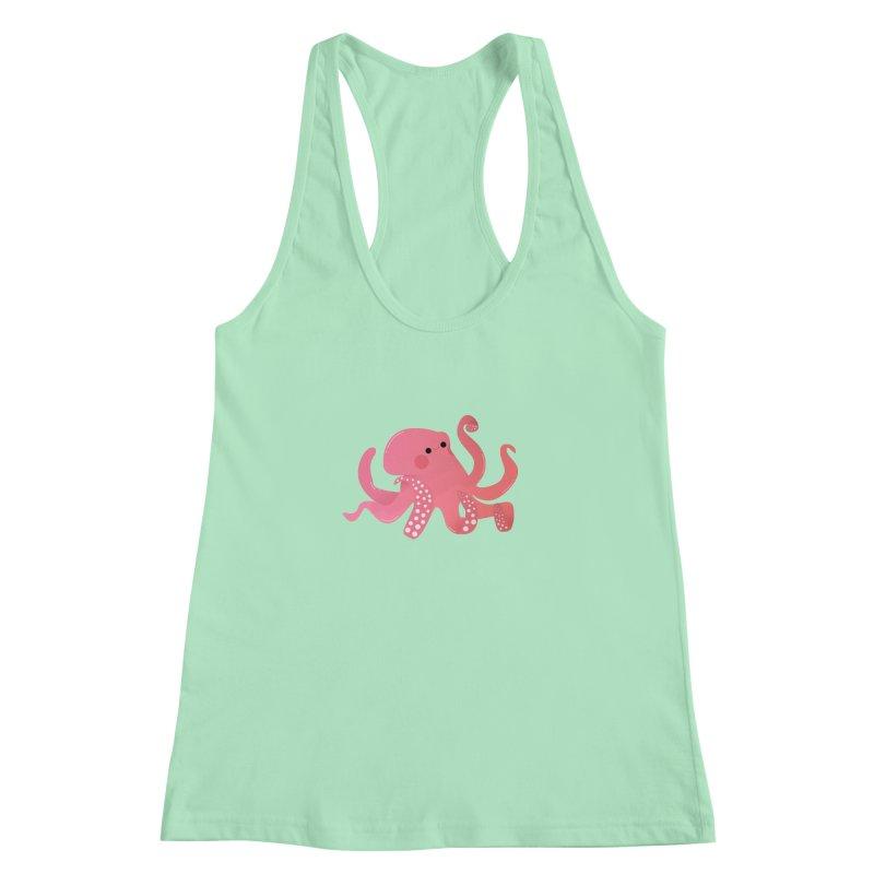 Mermay, Octopus Women's Racerback Tank by theladyernestember's Artist Shop