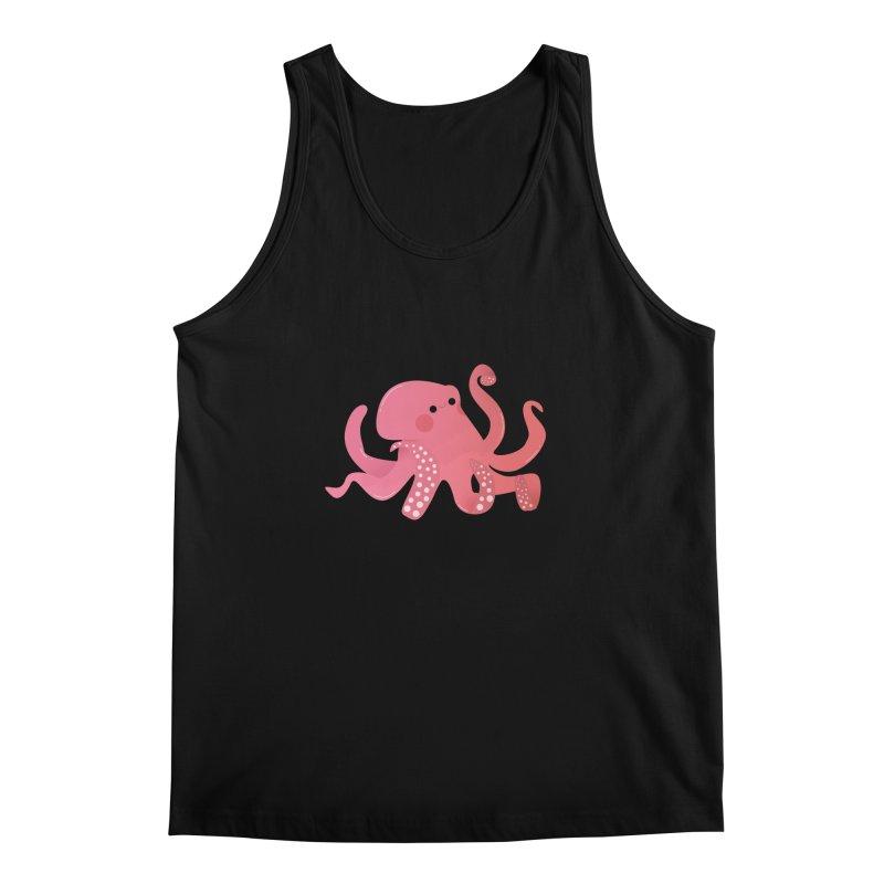 Mermay, Octopus Men's Regular Tank by theladyernestember's Artist Shop