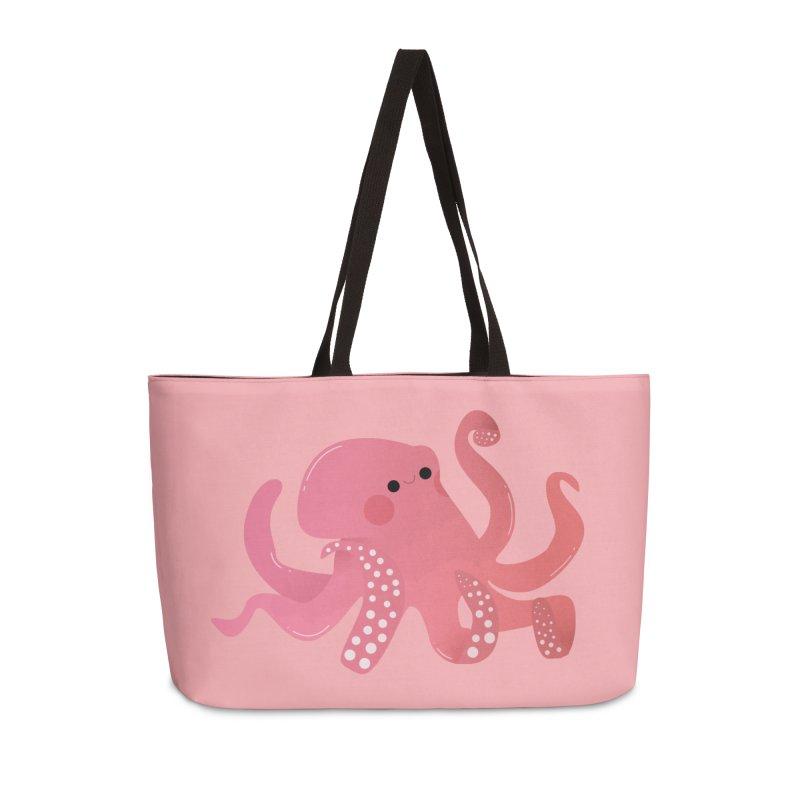Mermay, Octopus Accessories Weekender Bag Bag by theladyernestember's Artist Shop