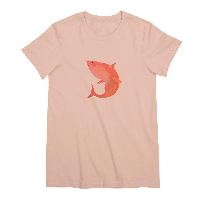 Shark Women's Premium T-Shirt by theladyernestember's Artist Shop