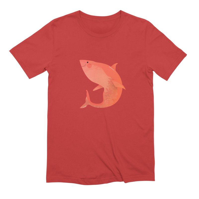Shark Men's T-Shirt by theladyernestember's Artist Shop