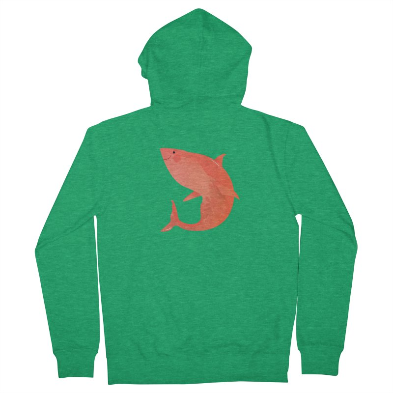 Shark Men's Zip-Up Hoody by theladyernestember's Artist Shop