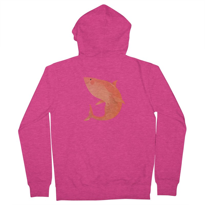 Shark Women's French Terry Zip-Up Hoody by theladyernestember's Artist Shop