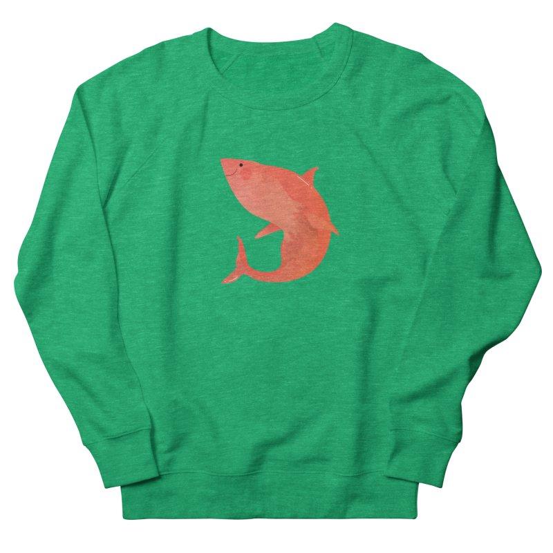 Shark Women's French Terry Sweatshirt by theladyernestember's Artist Shop