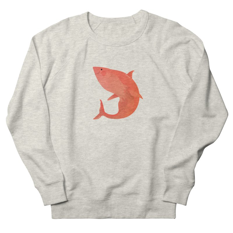 Shark Men's French Terry Sweatshirt by theladyernestember's Artist Shop