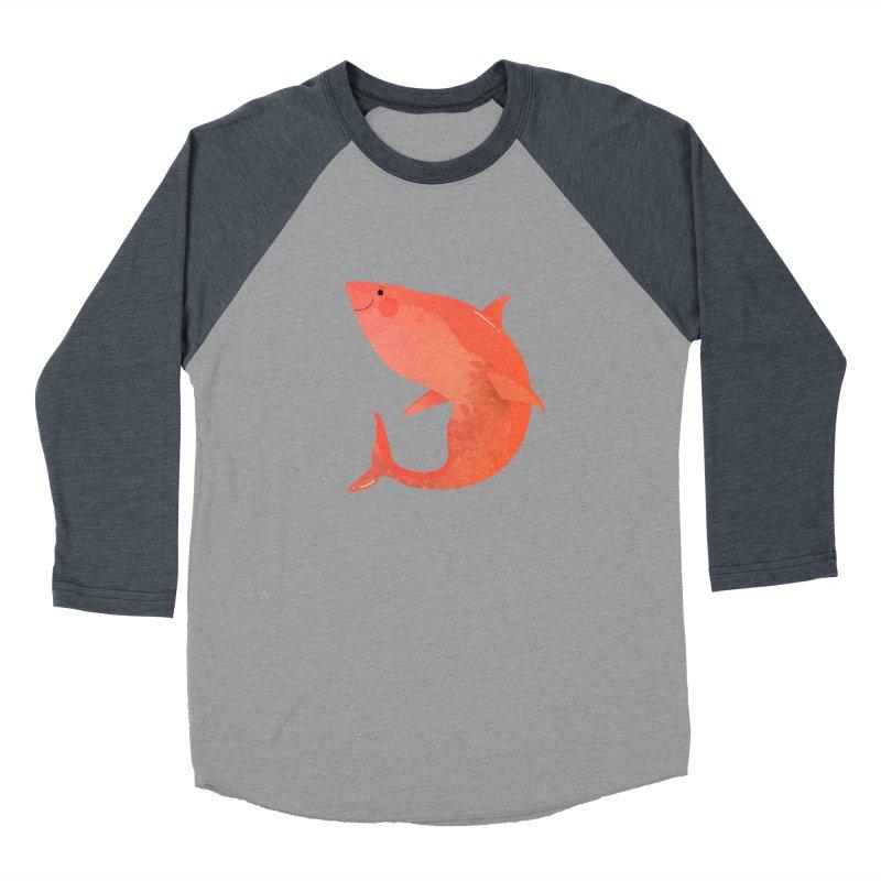 Shark Women's Baseball Triblend Longsleeve T-Shirt by theladyernestember's Artist Shop