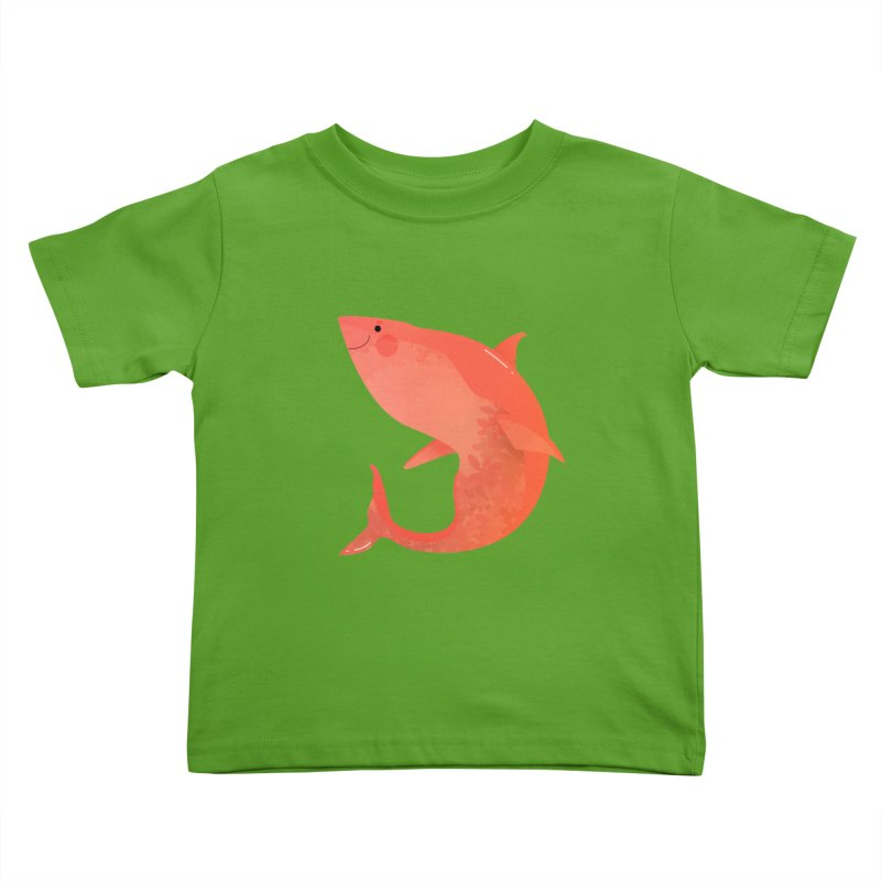 Shark Kids Toddler T-Shirt by theladyernestember's Artist Shop