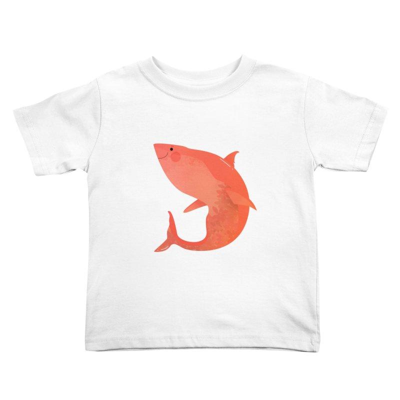 Shark Kids Toddler T-Shirt by theladyernestember's Artist Shop
