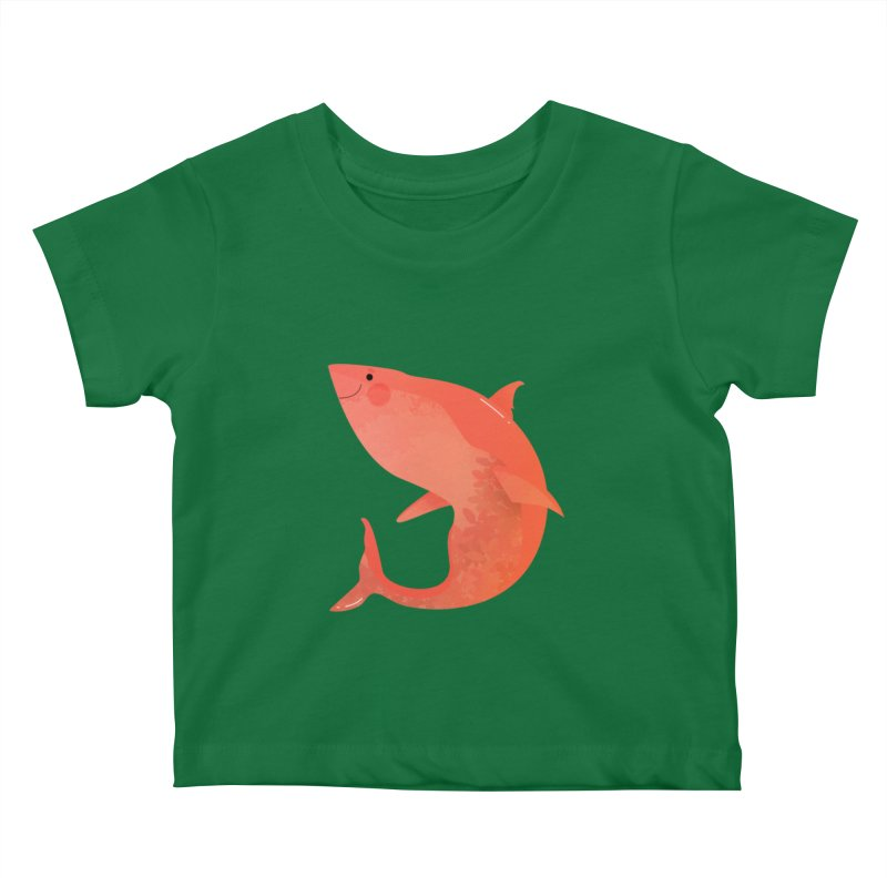 Shark Kids Baby T-Shirt by theladyernestember's Artist Shop