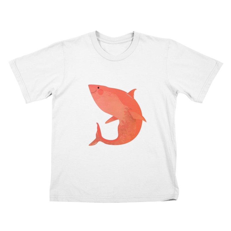 Shark Kids T-Shirt by theladyernestember's Artist Shop