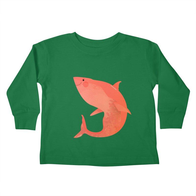 Shark Kids Toddler Longsleeve T-Shirt by theladyernestember's Artist Shop