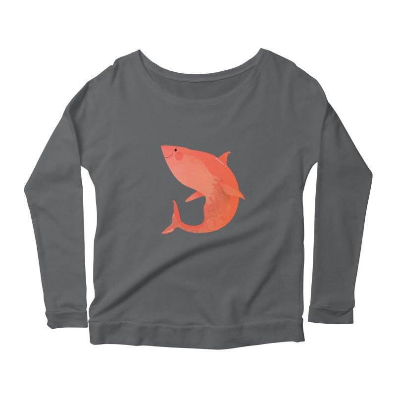 Shark Women's Longsleeve T-Shirt by theladyernestember's Artist Shop
