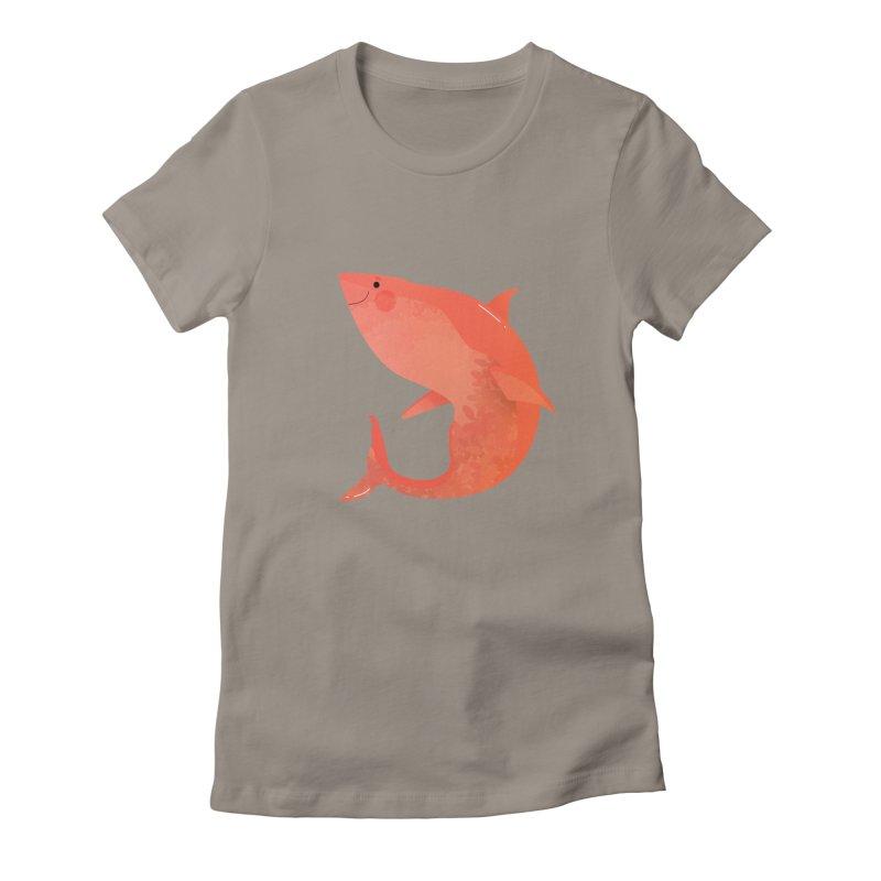 Shark Women's T-Shirt by theladyernestember's Artist Shop