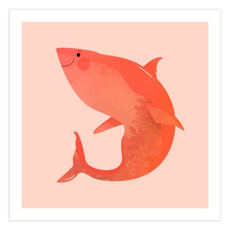Shark Home Fine Art Print by theladyernestember's Artist Shop