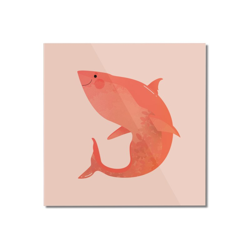 Shark Home Mounted Acrylic Print by theladyernestember's Artist Shop