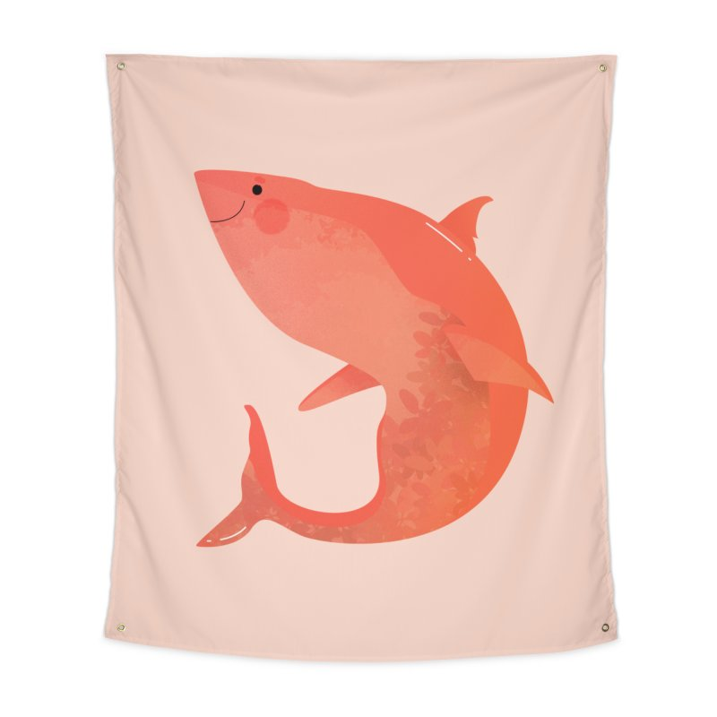 Shark Home Tapestry by theladyernestember's Artist Shop