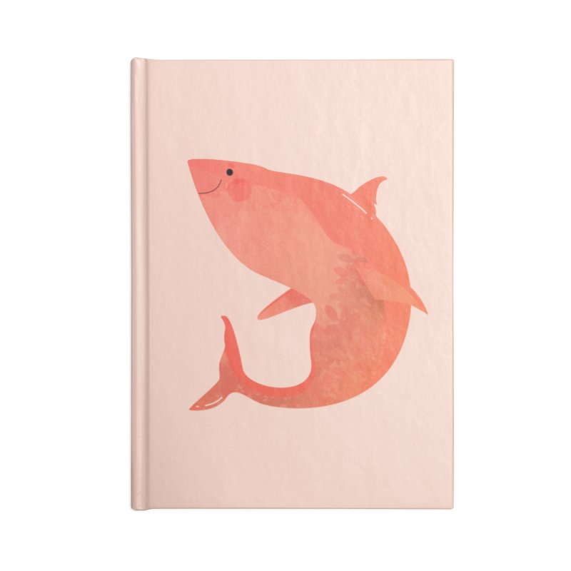 Shark Accessories Blank Journal Notebook by theladyernestember's Artist Shop
