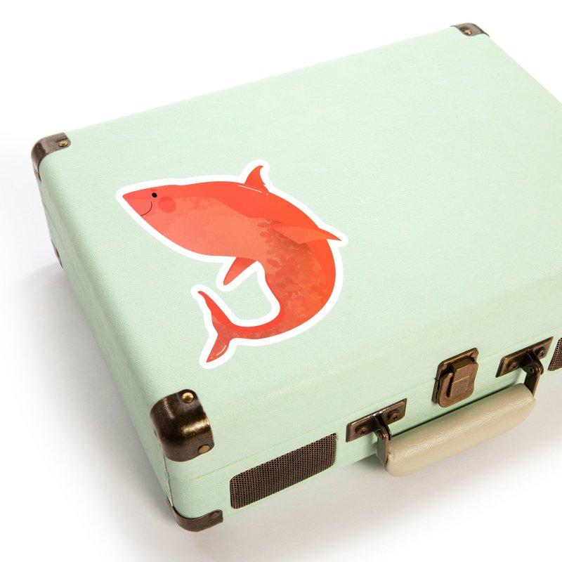 Shark Accessories Sticker by theladyernestember's Artist Shop