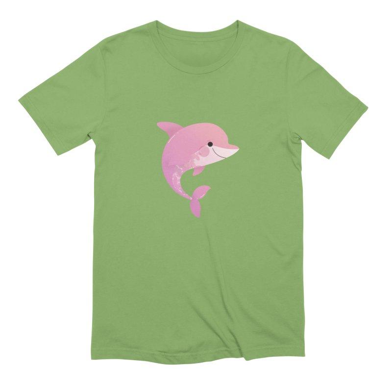 Dolphin Men's Extra Soft T-Shirt by theladyernestember's Artist Shop