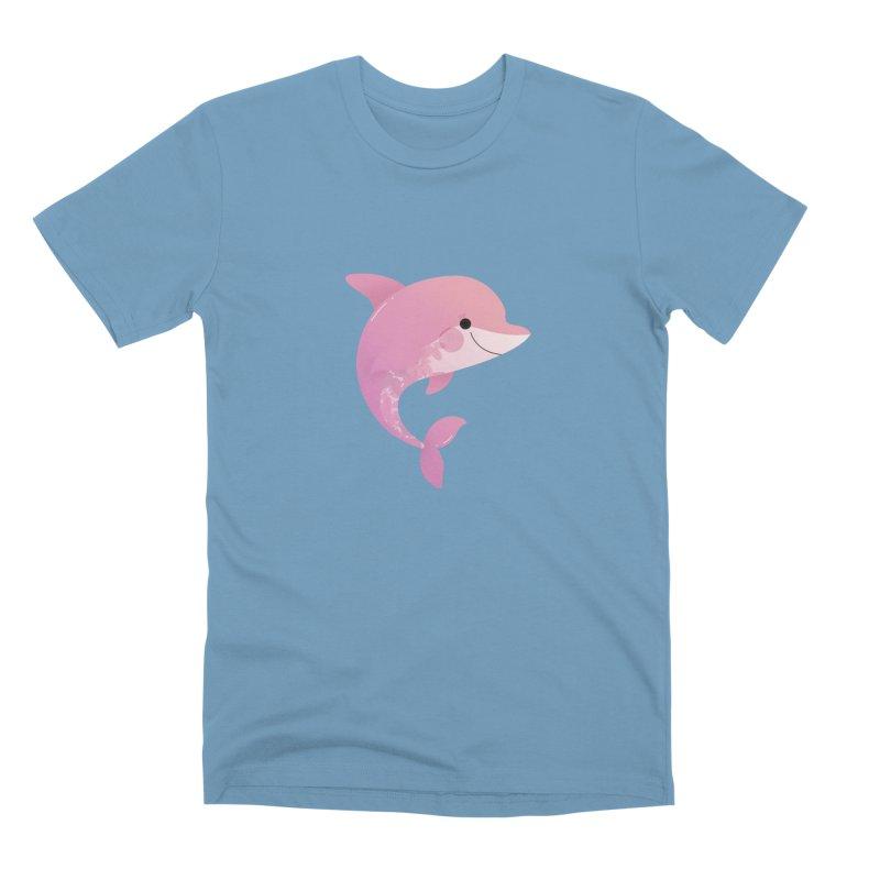 Dolphin Men's Premium T-Shirt by theladyernestember's Artist Shop