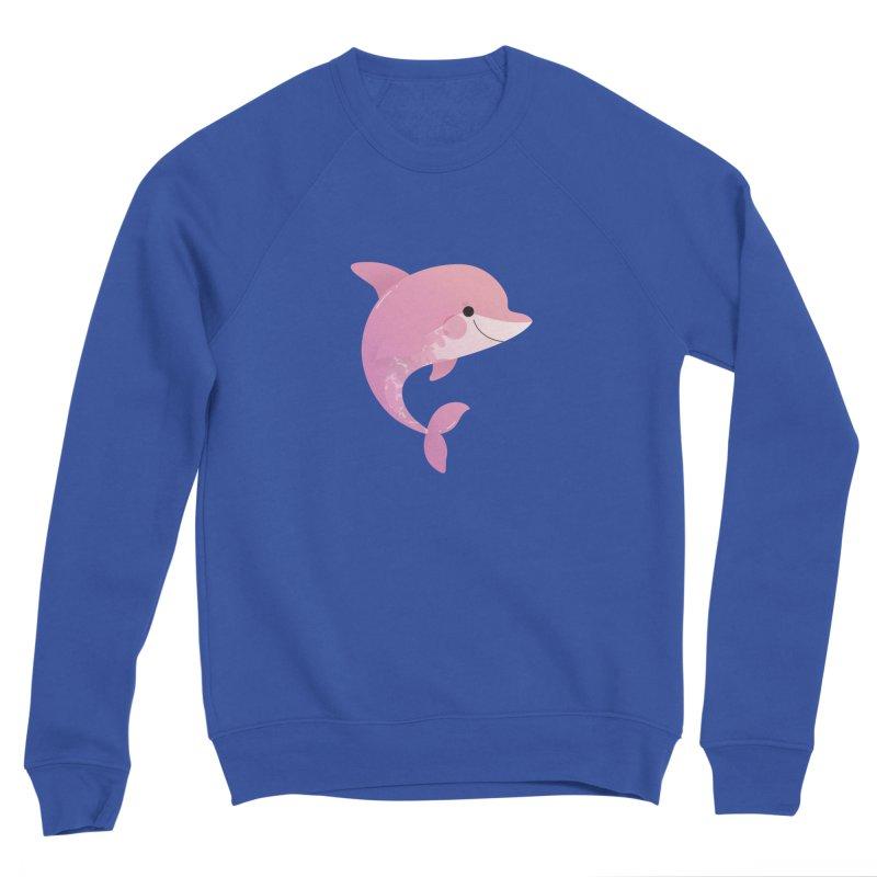 Dolphin Men's Sweatshirt by theladyernestember's Artist Shop