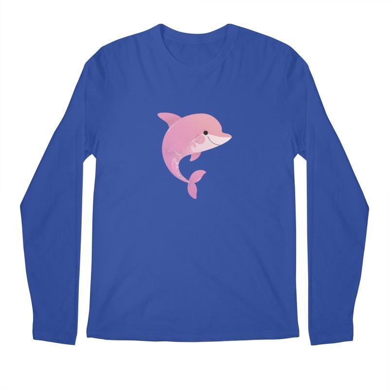 Dolphin Men's Regular Longsleeve T-Shirt by theladyernestember's Artist Shop