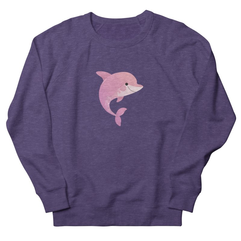 Dolphin Women's French Terry Sweatshirt by theladyernestember's Artist Shop