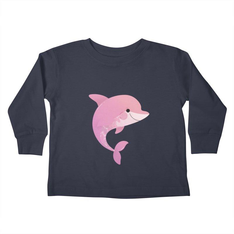 Dolphin Kids Toddler Longsleeve T-Shirt by theladyernestember's Artist Shop