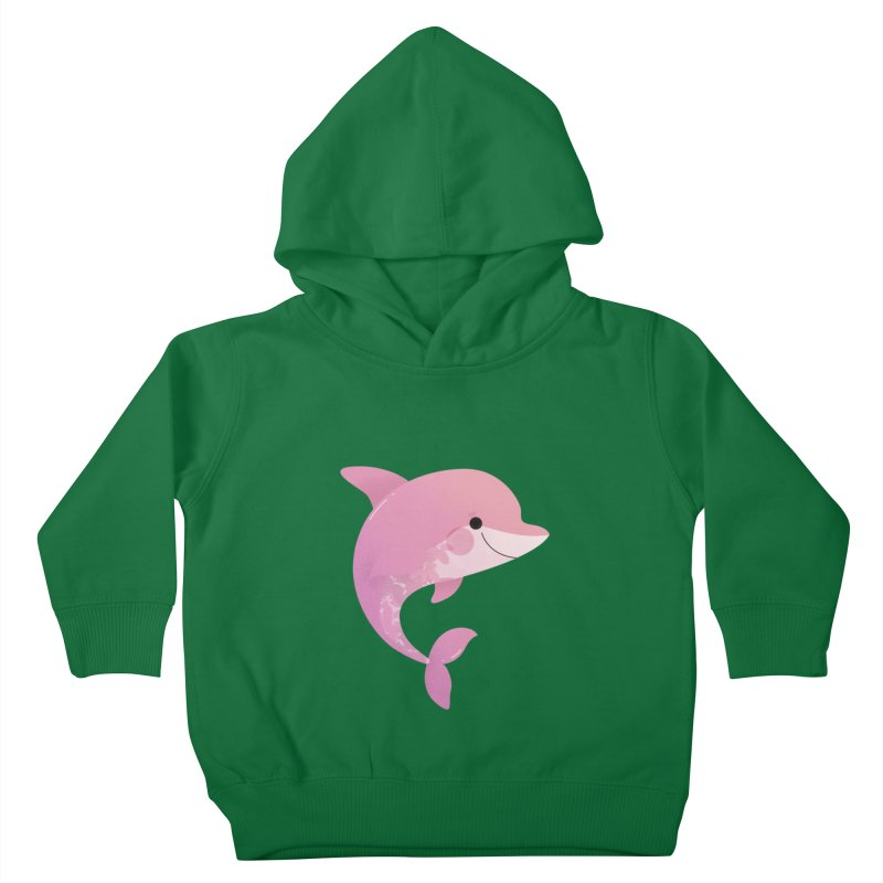 Dolphin Kids Toddler Pullover Hoody by theladyernestember's Artist Shop
