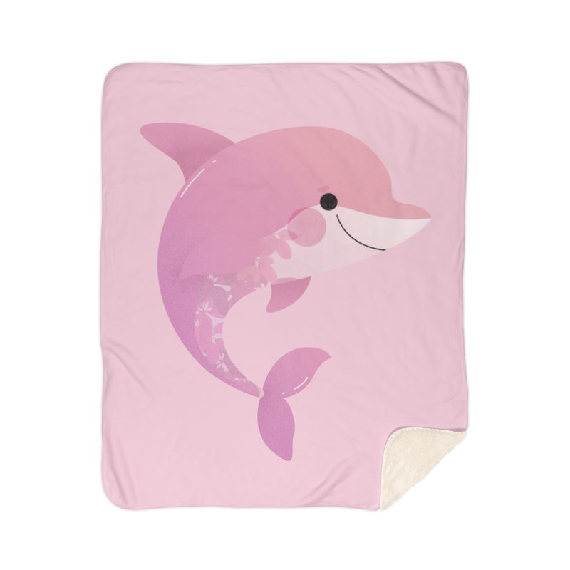 Dolphin Home Blanket by theladyernestember's Artist Shop