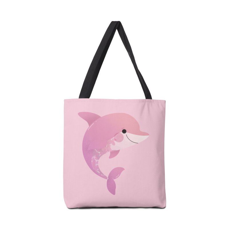 Dolphin Accessories Tote Bag Bag by theladyernestember's Artist Shop