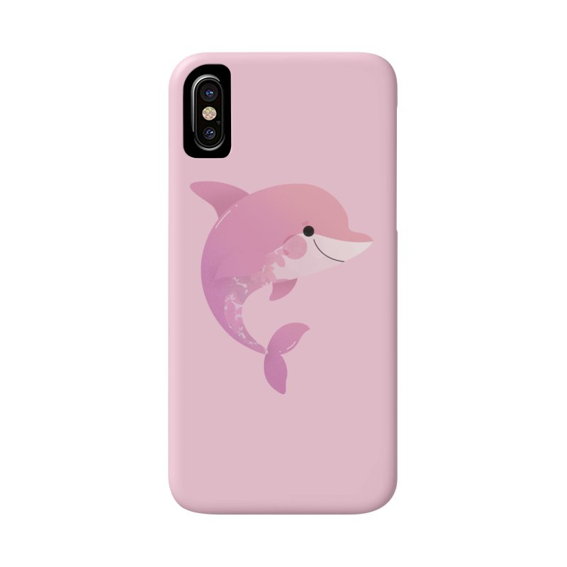 Dolphin Accessories Phone Case by theladyernestember's Artist Shop