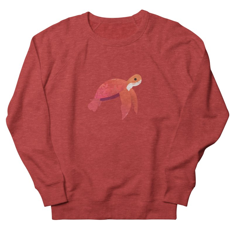 Turtle Women's French Terry Sweatshirt by theladyernestember's Artist Shop