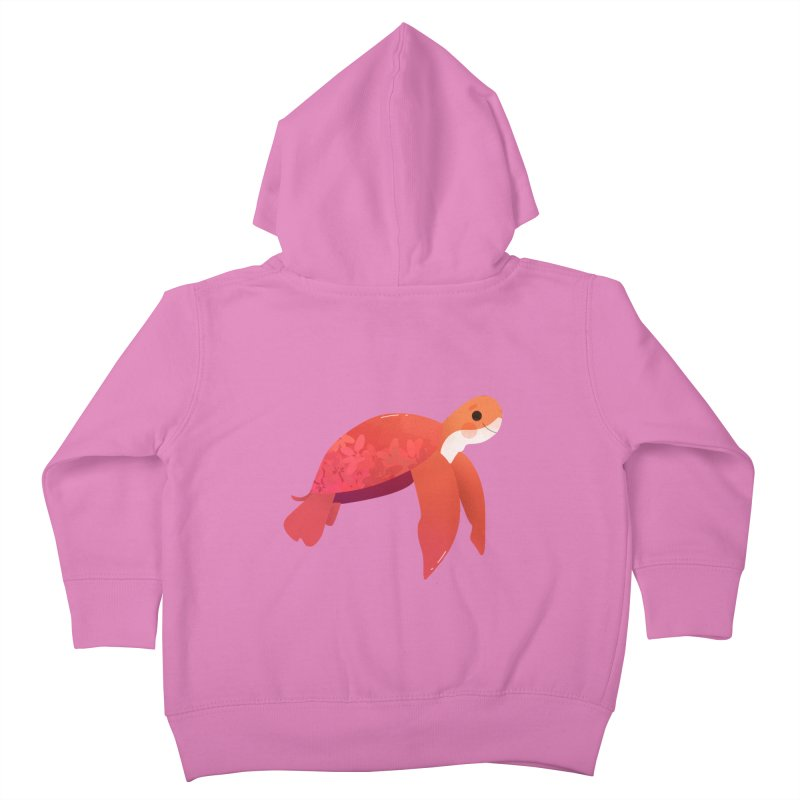 Turtle Kids Toddler Zip-Up Hoody by theladyernestember's Artist Shop