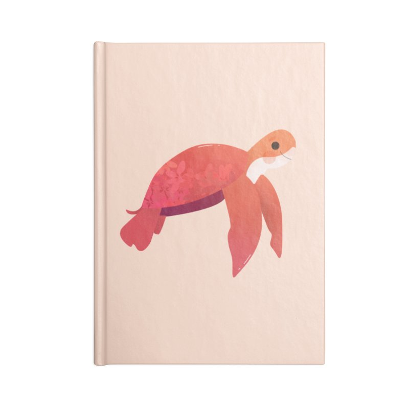 Turtle Accessories Blank Journal Notebook by theladyernestember's Artist Shop