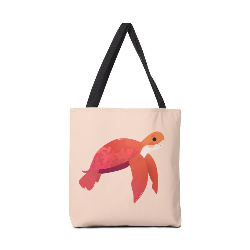 Turtle Accessories Tote Bag Bag by theladyernestember's Artist Shop