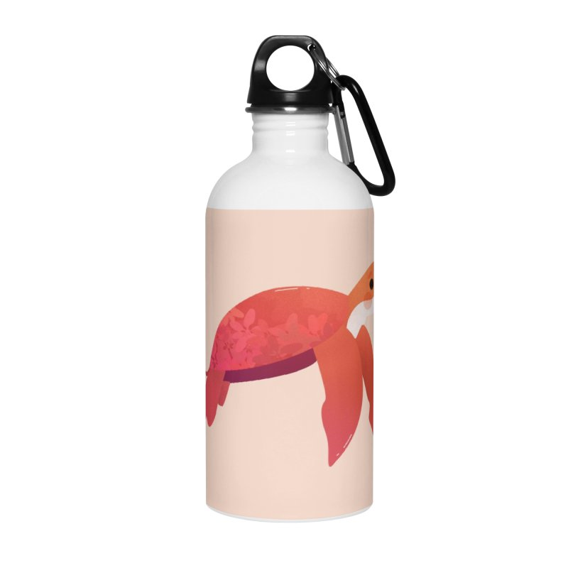 Turtle Accessories Water Bottle by theladyernestember's Artist Shop