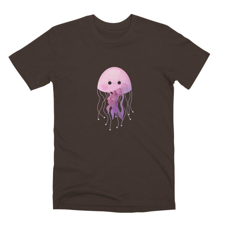 Jellyfish Men's Premium T-Shirt by theladyernestember's Artist Shop