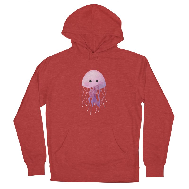 Jellyfish Women's French Terry Pullover Hoody by theladyernestember's Artist Shop