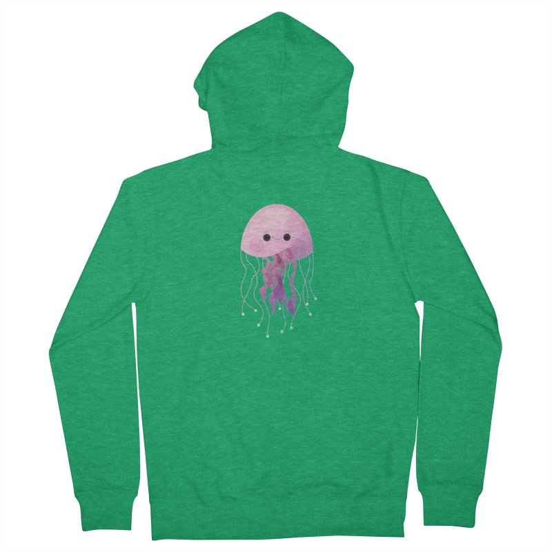 Jellyfish Women's Zip-Up Hoody by theladyernestember's Artist Shop
