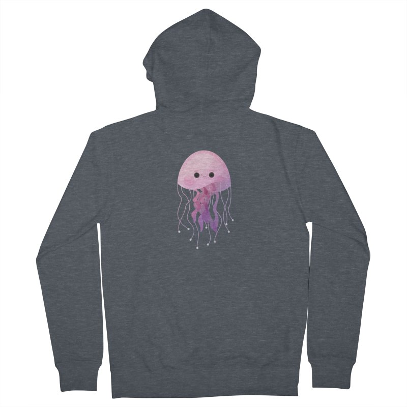 Jellyfish Men's Zip-Up Hoody by theladyernestember's Artist Shop