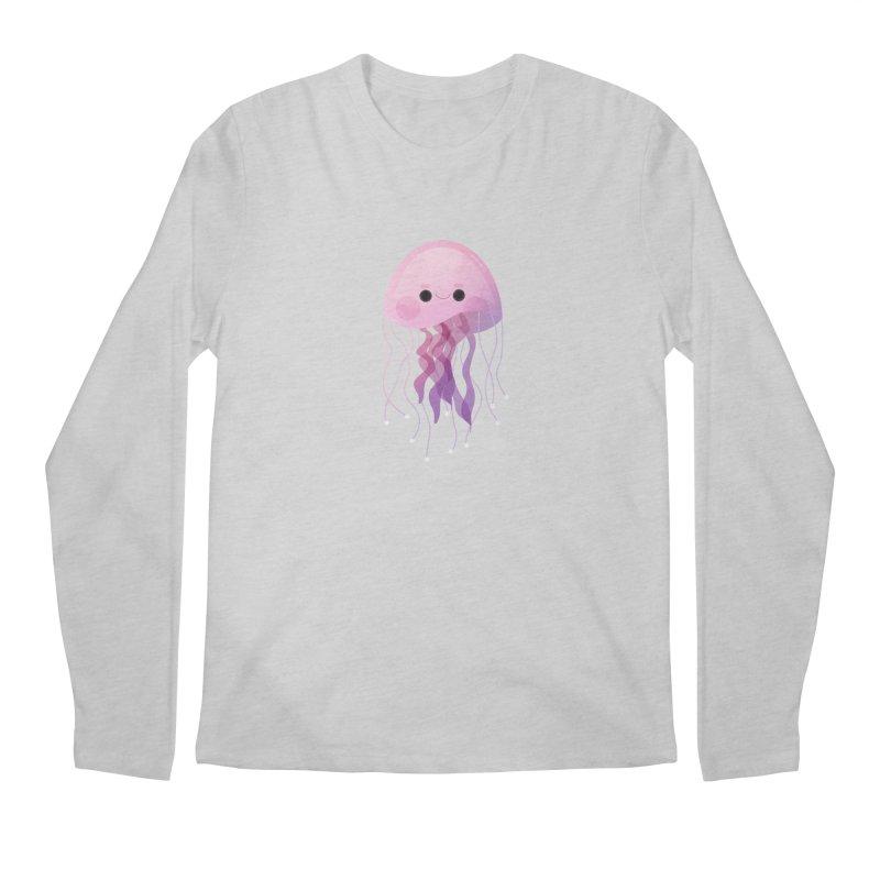 Jellyfish Men's Regular Longsleeve T-Shirt by theladyernestember's Artist Shop