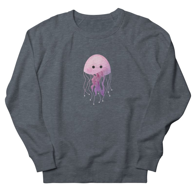 Jellyfish Women's French Terry Sweatshirt by theladyernestember's Artist Shop