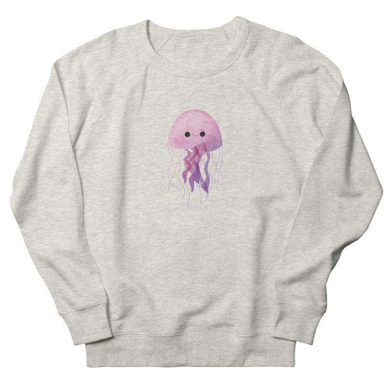 Jellyfish Women's French Terry Sweatshirt by theladyernestember's Artist Shop