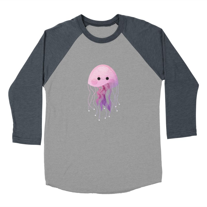 Jellyfish Women's Baseball Triblend Longsleeve T-Shirt by theladyernestember's Artist Shop