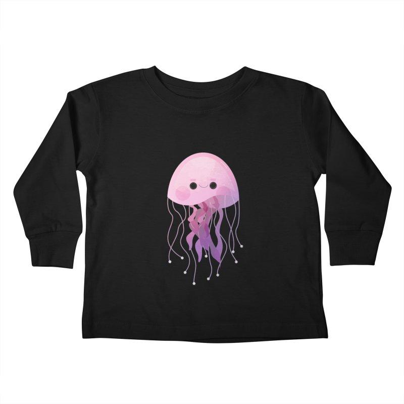 Jellyfish Kids Toddler Longsleeve T-Shirt by theladyernestember's Artist Shop