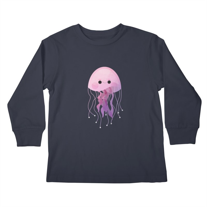 Jellyfish Kids Longsleeve T-Shirt by theladyernestember's Artist Shop