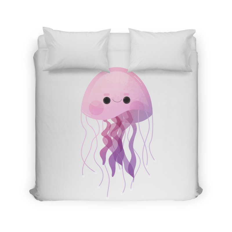 Jellyfish Home Duvet by theladyernestember's Artist Shop