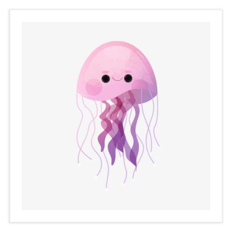 Jellyfish Home Fine Art Print by theladyernestember's Artist Shop