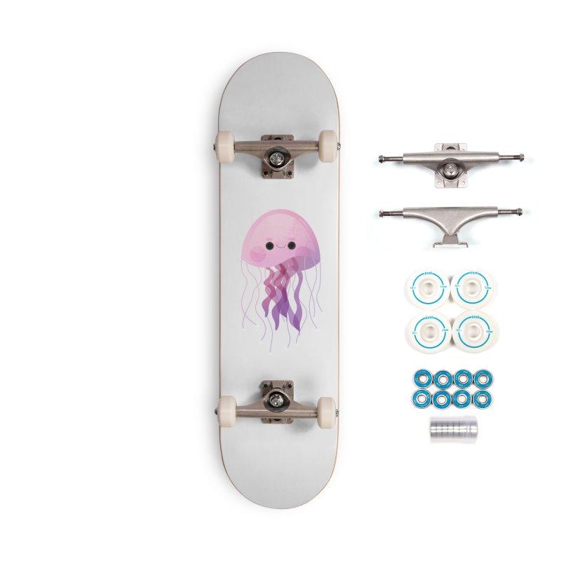 Jellyfish Accessories Skateboard by theladyernestember's Artist Shop